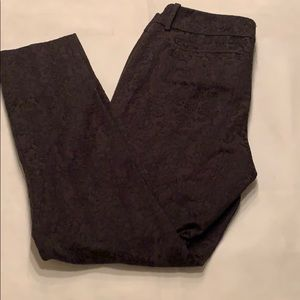 Mossimo black textured pants 8